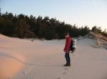 O. bada stabilność piasku.